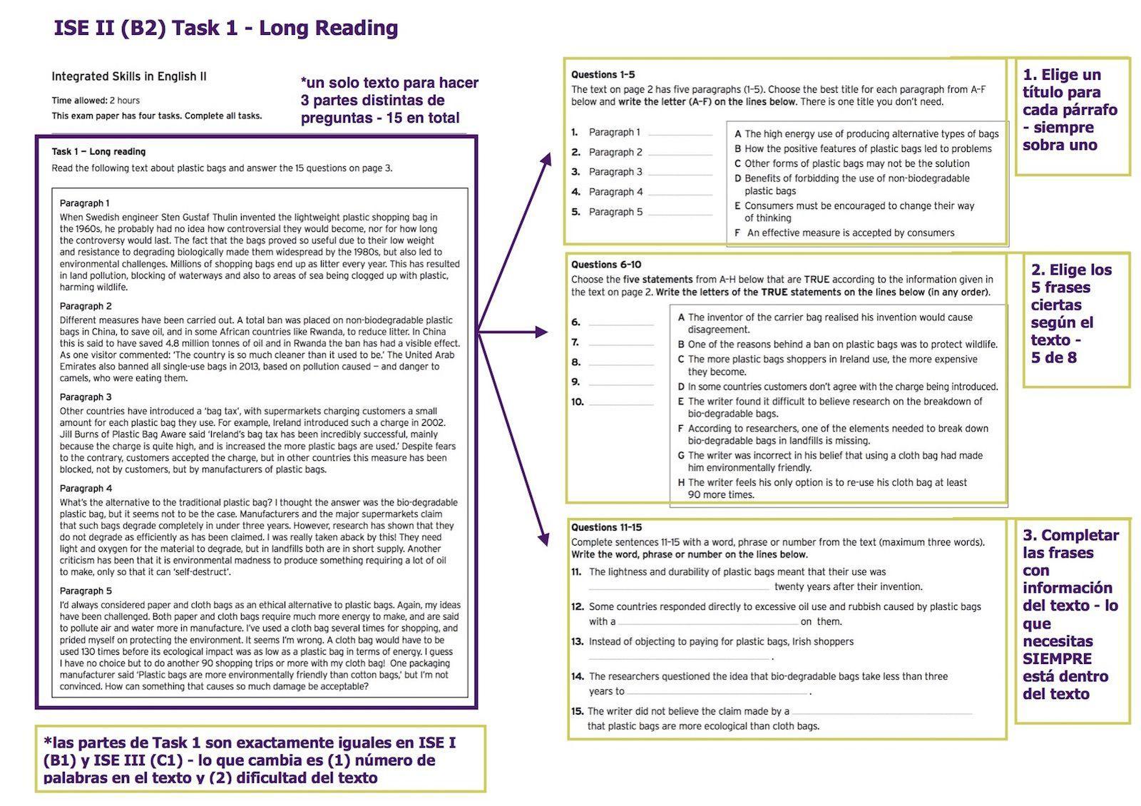 Trinity ISE: Reading & Writing | Nessie | Quality Language