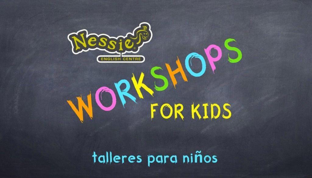 Talleres de inmersión en inglés para niños (3-11 años) Workshops for Children