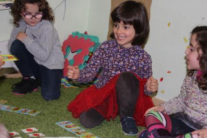 inglés para niños de 3 a 5 años en Albacete. Infants