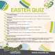 EASTER QUIZ ANSWERS.