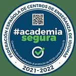 #academiasegura academia segura. Centro de Idiomas adherido al protocolo de FECEI contra el Covid-19